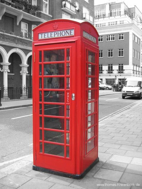 Telefonzelle in London