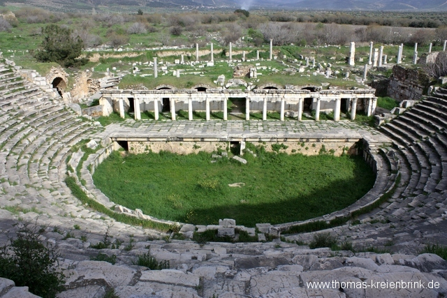 Theater in Aphrodisias