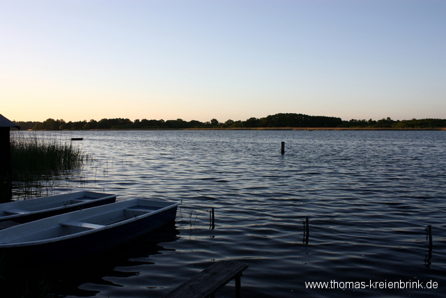 Abend am Ruppiner See